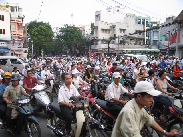 Saigon Traffic