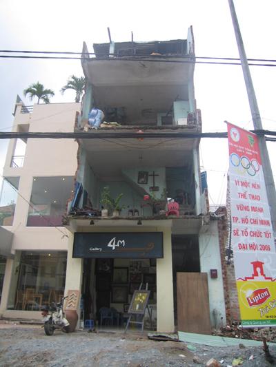 Saigon Ghost Building