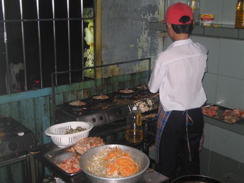 Cooking Hue Pancakes