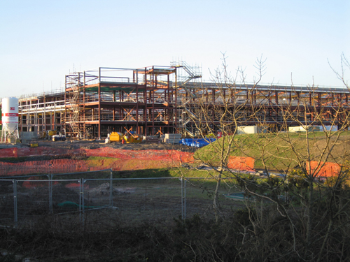 Helensburgh Academy - Under Construction