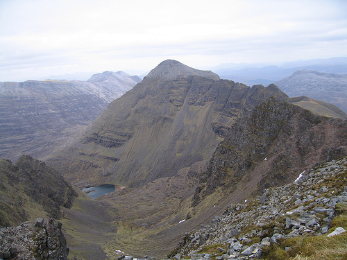 Wester Ross from Liathach