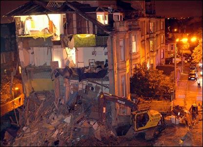 collapsed tenement